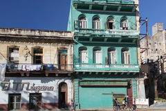Architecture detail in Havana, Cuba Royalty Free Stock Photo