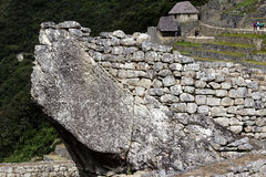 Architecture Detail Inca Ruins Machu Picchu Peru South America Royalty Free Stock Photography
