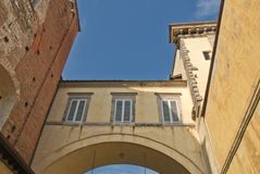 Architecture Detail in Lucca Royalty Free Stock Photo
