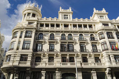 Architecture detail in Madrid, Spain Stock Photo