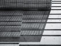 Free Architecture Detail Metal Grill Wall Cement Floor Shade Shadow Lighting Royalty Free Stock Photography - 157010207