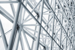 Architecture detail Modern Glass facade Metal Structure Stock Image