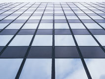 Architecture detail Modern Glass facade Pattern Background Stock Photo