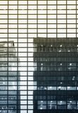 Architecture detail Modern Glass facade reflect Building Royalty Free Stock Image