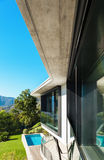 Architecture, detail modern villa Stock Photo