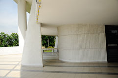 Architecture detail of Negeri Sembilan State Mosque in Negeri Sembilan, Malaysia Royalty Free Stock Photography