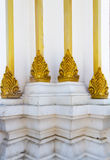 Architecture detail of old buddhist pagoda base Stock Photos