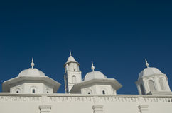 Architecture detail of an old mosque. Royalty Free Stock Photography
