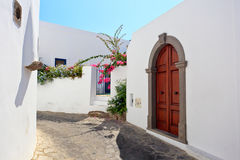 Architecture detail of Panarea Royalty Free Stock Photos