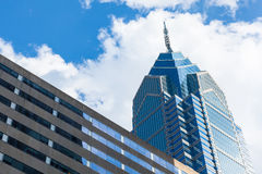 Architecture detail - Philadelphia downtown glass building - Pen Stock Image