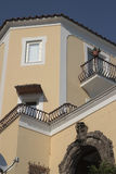 Architecture detail in Positano, Italy Royalty Free Stock Image