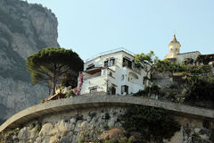 Architecture detail in Positano, Italy Stock Images