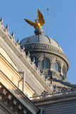 Architecture detail at Romanian Patriarchal Palace Royalty Free Stock Images