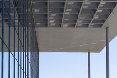 Architecture detail , roof of modern building Stock Photos