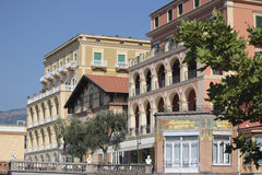 Architecture detail in Sorrento, Italy Royalty Free Stock Photography