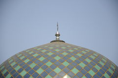 Architecture detail at Sultan Abdul Samad Mosque (KLIA Mosque) Stock Photos
