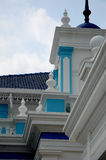 Architecture detail of The Sultan Ibrahim Jamek Mosque Royalty Free Stock Photo
