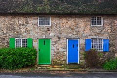 Architecture detail of traditional english cottage houses Stock Photography