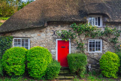 Architecture detail of traditional english cottage houses Royalty Free Stock Images