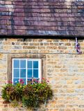 Architecture detail of traditional English cottage Royalty Free Stock Image