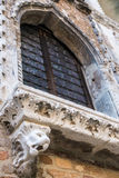 Architecture detail in Venice, Italy Royalty Free Stock Images