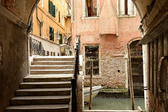 Architecture detail in Venice Stock Photos