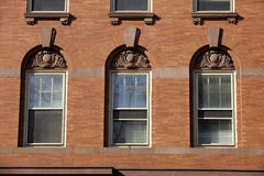 Architecture detail: Windows Stock Image