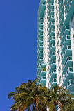 Architecture details of building in Miami Beach, Florida. Stock Photo
