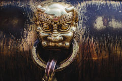 Architecture in details in China Beijing Forbidden city Royalty Free Stock Photography