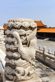 Architecture in details in China Beijing Forbidden city Stock Photos