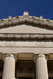 Architecture: Details of Columns on building Royalty Free Stock Photo