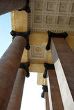 Architecture details - columns and ceiling Royalty Free Stock Photos