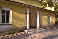 Architecture details of Historical buildings in Moscow park Stock Photography
