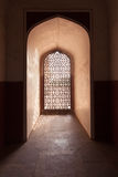 Architecture details of Humayuns Tomb, India Stock Photography