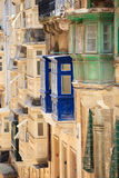 Architecture details of Malta Stock Photos