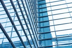 Free Architecture Details Modern Building Glass Facade Business Royalty Free Stock Images - 115632649