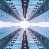 Architecture details modern building perspective Futuristic Stock Image