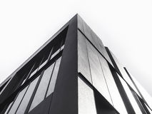 Architecture details Modern Facade building Black and White. Architecture details Modern Facade building Abstract Background Stock Photos