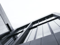 Architecture details Modern Facade building Black and White. Architecture details Modern Facade building Abstract Background Royalty Free Stock Images