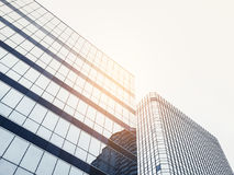 Architecture details Modern Facade Glass frame building Stock Image