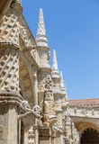 Architecture details of the Monastery or Hieronymites Royalty Free Stock Photography