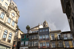 Architecture details of Oporto Royalty Free Stock Photo