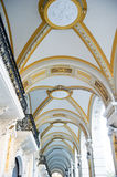 Architecture details of passage in Vienna. Austria Royalty Free Stock Photo