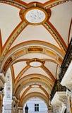 Architecture details of passage. In Vienna, Austria Stock Photo