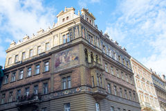 Architecture Details Prague Stock Photography