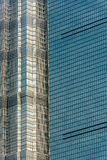Architecture details skyscrapers building pudong shanghai china Stock Image