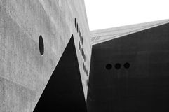 Architecture details of Swiss National Museum in Zurich, Switzerland stock photo