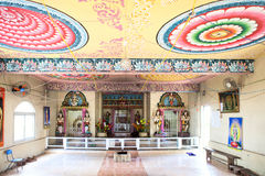 Architecture details of traditional Hindu temple Royalty Free Stock Photography