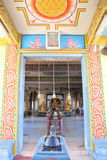 Architecture details of traditional Hindu temple Stock Image
