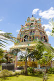 Architecture details of traditional Hindu temple Stock Photo